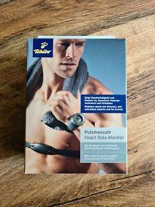 Pulsmesser mit Geschwindigkeit- &Distanzmesser Pulsmessuhr Uhr Herzf.+ Brustgurt