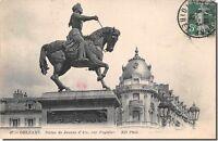 CPA 45 - ORLEANS - Statue de jeanne d' arc, par Foyatier