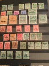 Stamps,British Colonies, Mlh & used, War Tax