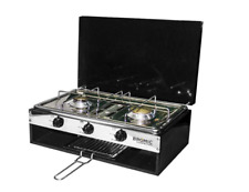 Bromic 2020059 Lido Junior Marine Boat 2 Burner Stove with Grill