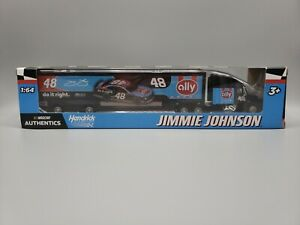 2020 Jimmie Johnson #48 Ally Darlington Hauler 1/64 Authentics - Only 2 left!