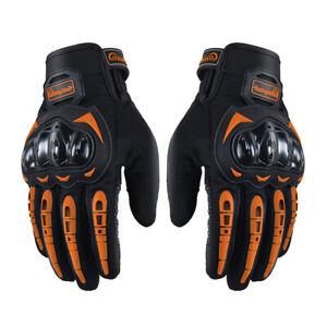 Men Motorcycle Touch Screen Gloves Racing Off Road Non-slip Full Finger Gloves