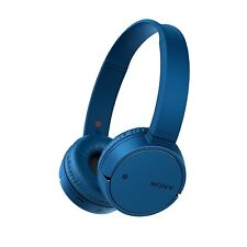 Sony WH-CH500 Wireless Bluetooth NFC On Ear Headphones with 20h Battery Life Blu