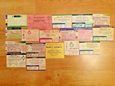 Ireland Used Rugby Tickets 1960 - 2006