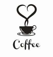 Coffee Lovers Vinyl Die Cut Car Decal Sticker - FREE SHIPPING