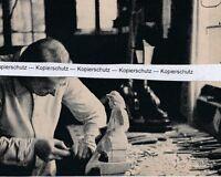 Furtwangen im Schwarzwald - Holzschnitzer -  um 1935 - selten  N 12-11