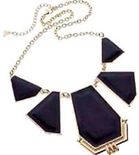 BULK 10 X NEW & TAGS DIVA STUNNING NECKLACE BLACK IN COLOUR FORMAL  free post