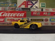 TYCO YELLOW '79 CHEVY CAMARO Z-28 WITH CURVEHUGGER HP-2 CHASSIS