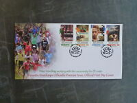 2014 VANUATU THEATRE SET 4 STAMPS FDC FIRST DAY COVER
