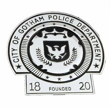 BATMAN Dark Knight Gotham Police Department Movie Badge Prop Replica With Holder