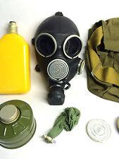 Soviet russian Black Gas mask GP-7V size 3 LARGE New full set