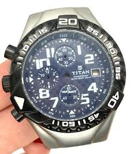 Titan Fastrack 1021SBA Chronograph 100 Mt. Box Case Body Sphere Dial