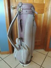 Hot Z Cart Style Golf Bag. Purple. Good condition.