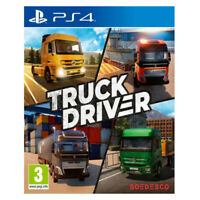 Truck Driver PlayStation PS4 2019 EU English Chinese Factory Sealed