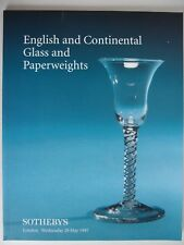 "Auktionskatalog ""British and Continental Glass"", Sotheby´s, London, 28.5.1997"