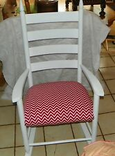Oak White Rocker / Rocking Chair  (R90)