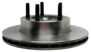 Disc Brake Rotor and Hub Assembly-Non-Coated Front ACDelco Advantage 18A620A