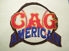 Retro Cag Chicago American Giants Negro League Baseball Patch on Felt