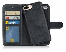 Flip Case and Back Cover 2 in 1 for Galaxy Samsung Magnetic Detachable Wallet