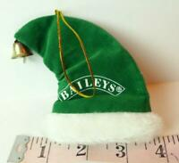 Baileys Liquor Santa Hat with Jingle Bell Ornament Style Decoration