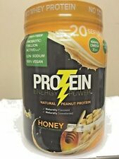 PROTEIN Energy Power HONEY PEANUT Powder 20 Servings 1.8 lbs PROBIOTIC OMEGA 3