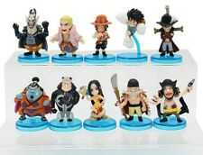 ONE PIECE/SET 10 PCS 5 CM- LUFFY BOA ACE MIHAWK JINBE DOFLAMINGO EDWARD IN BOX