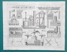 SHIPS Frigates Steam Engine Construction Boilers Screws - 1844 Superb Print
