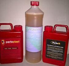 Perloplast Kunststoff Pflege+ nano Politur+ 0,5L Felgenreiniger, - 30% Rabatt