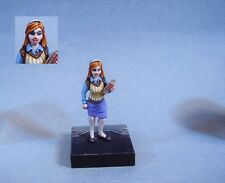 Painted miniature  cute Female Scientist/Science Officer