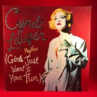"""CYNDI LAUPER Hey Now Girls Just Want To Have Fun 1994 7-track 12"""" Vinyl EP"""