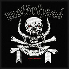 MOTÖRHEAD - Patch Aufnäher - March or die 10x10cm