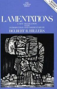 Anchor Bible Series Vol. 7A - Lamentations - Hardcover