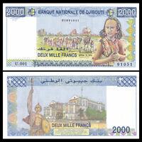 Djibouti 2000 Francs, ND(2005), P-43, UNC