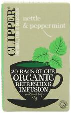 Clipper Organic Infusion Nettle & Peppermint 20Bags (6 Pack)