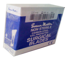 No.9,SCALPEL BLADES,SWANN MORTON,BOX of 100,NEW DATED 2021,FAST POST,CHEAP PRICE
