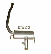 RENAULT LAGUNA 1.9 DCi 99-00 EXHAUST CENTRE SILENCER SECTION WITH CLAMPS FOC