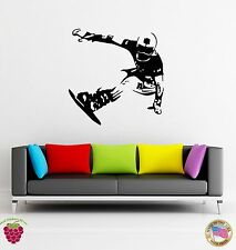 Wall Stickers Vinyl Decal Snowboard  Winter Sport  Extreme Snowboarding  (z1631)