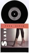 "SLADE ~ 7 YEAR BITCH / LEAVE THEM GIRLS ALONE ~ UK 7"" SINGLE + P/S ~ RCA 475"