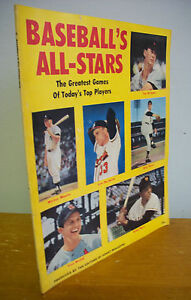 BASEBALL'S ALL-STARS 1958 Magazine; Ted Williams, Stan Musial, Mickey Mantle etc