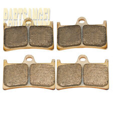 Front Sintered Brake Pads For 1999 2000 2001 2002 2003 2004 Yamaha YZF 600 R6 RR