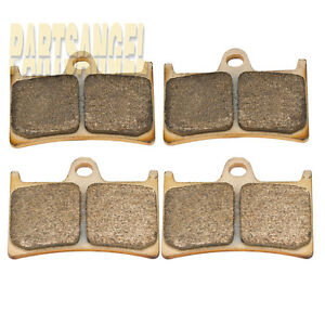 Front Sintered Brake Pads For Yamaha R6 YZF-R6 YZF600RR 1999-2014 2013 2012 2011