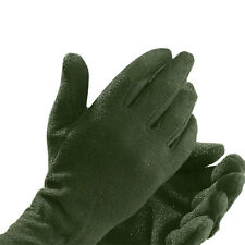 EDZ Motorcycle Warm Thermal Inner Glove Liner Olive Green Large Extra Large