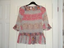 Floral Gypsy Polyester Girls' T-Shirts & Tops (2-16 Years)
