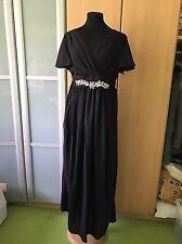 schönes Abendkleid Ballkleid langes Kleid Gr. 38/40 Schwarz Neu!