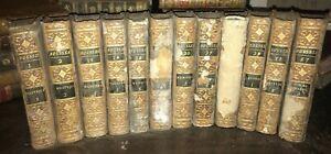 Œuvres complètes de Jean Jacques Rousseau – 12 volumes de 1793