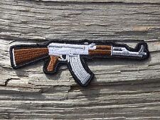 D010 ECUSSON PATCH THERMOCOLLANT aufnaher toppa ARME armée pistolet revolver