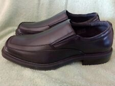Mens Boys Dexter Black Casual Shoes Slip On Formal Shoes Size 7 (41)
