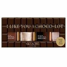 Nails Inc - Nail Polish Set - I Like You Choco Lot Collection (4 X 14ml)