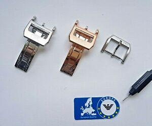 Clasp for IWC Deployment clasp tang buckle folding Portuguese Portofino Pilot