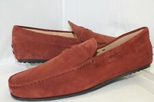 New Tod's Mocassino City Gommi Loafers Shoes Size 12 Drivers Sued